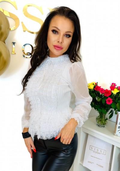 Bluzka KHLOE- biała