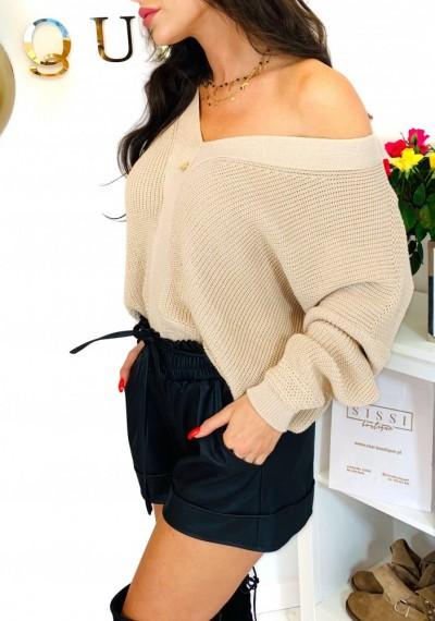 Sweter MONROE- beż