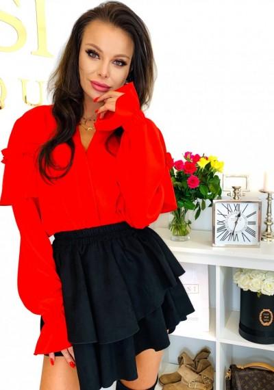 Bluzka LAURA- czerwona