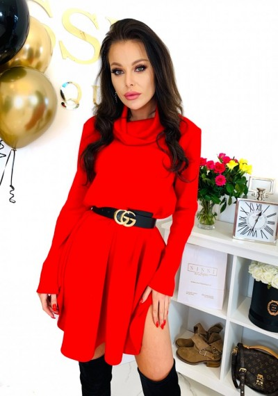 Sukienka REINA- czerwień