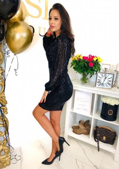 Sukienka PERRY BLACK 3