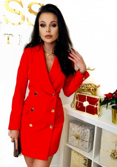 Sukienka CLASSIC- czerwień