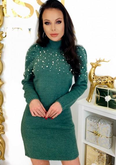 Sukienka PEARL- khaki