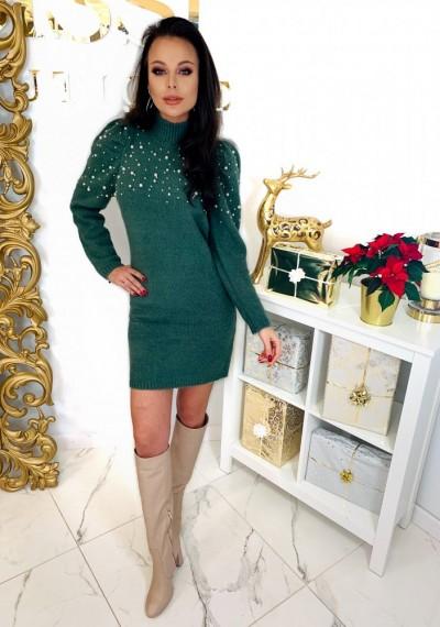 Sukienka PEARL- khaki 3