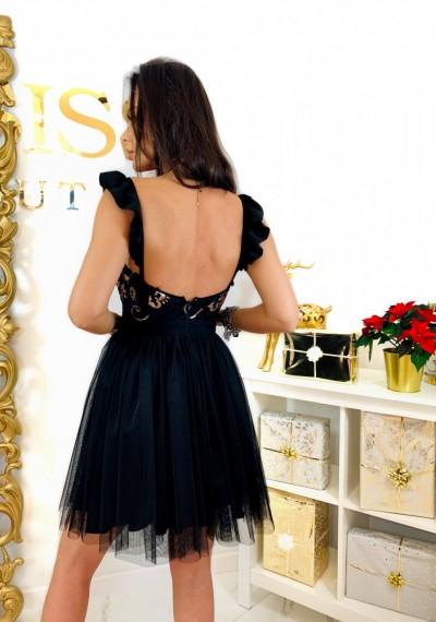 Czarna Sukienka QUEEN 5