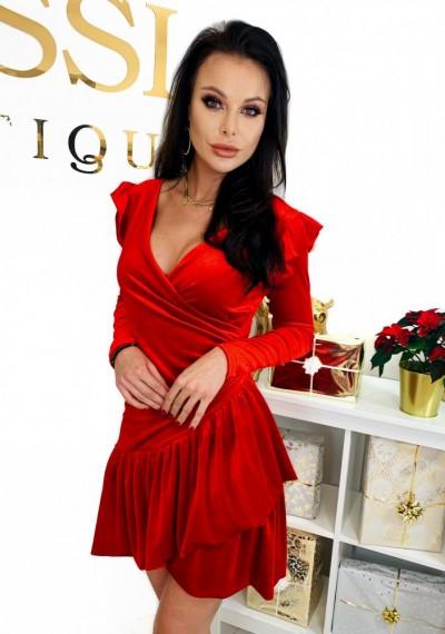 Sukienka CHERRY- czerwień