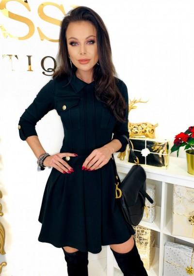 Sukienka MEGGY- czarna