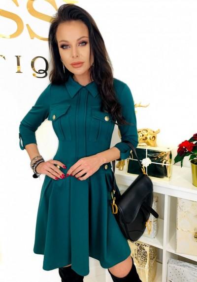 Sukienka MEGGY- zieleń