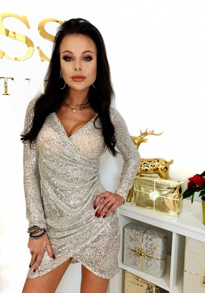 Sukienka FRANKY BEIGE