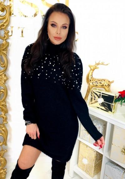 Sukienka PEARL- czarna 1