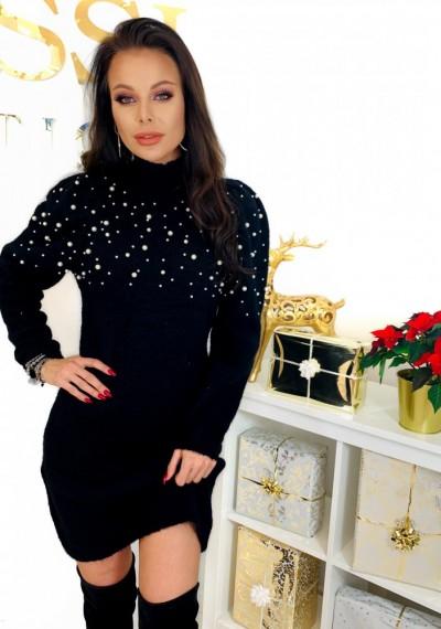Sukienka PEARL- czarna 2