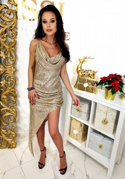 Sukienka GLOW GOLD