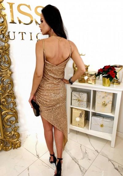 Sukienka GLOW GOLDEN 3