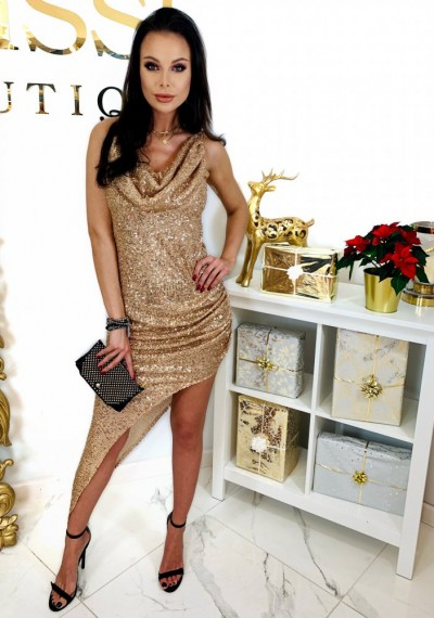 Sukienka GLOW GOLDEN 5