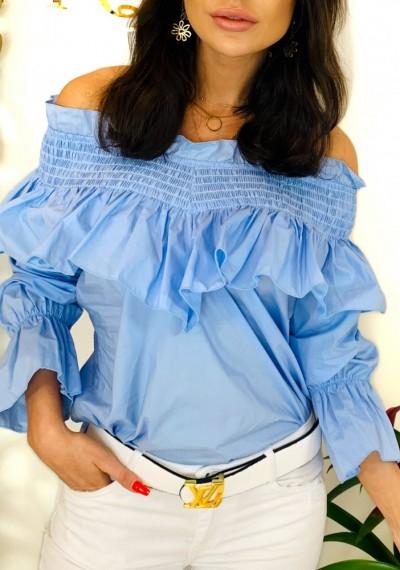Bluzka ZOEY- błękit