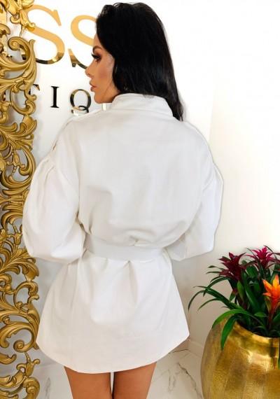 Sukienka/Płaszcz TANYA- biel 5