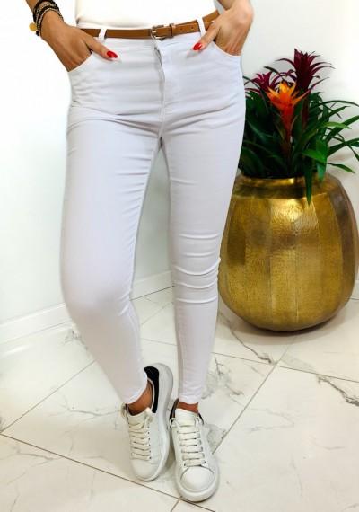 Spodnie NORMAN- white