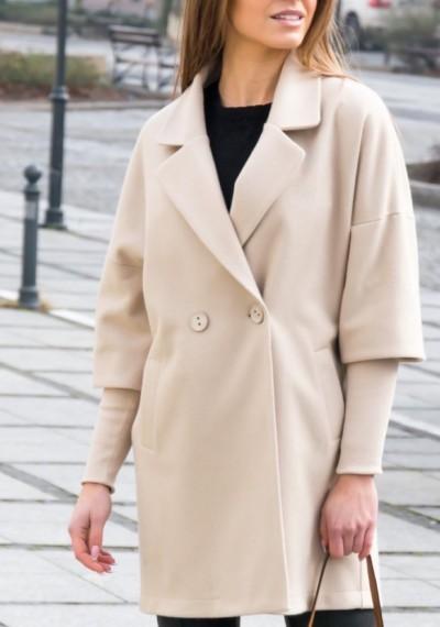 Płaszcz CHINO- beż