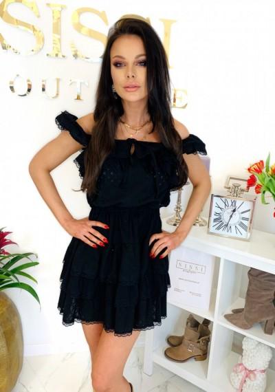 Sukienka CHELSEY- czarna 2
