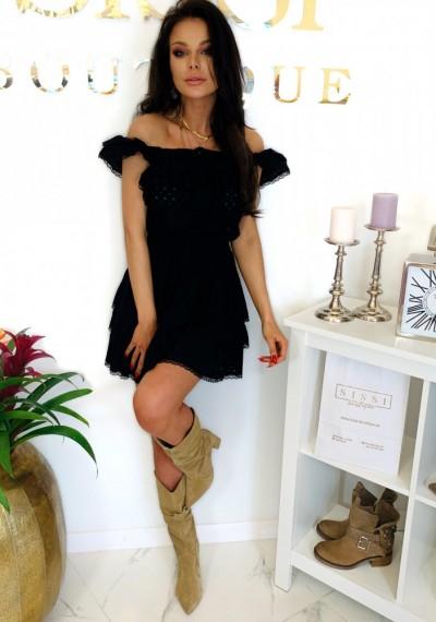 Sukienka CHELSEY- czarna 4