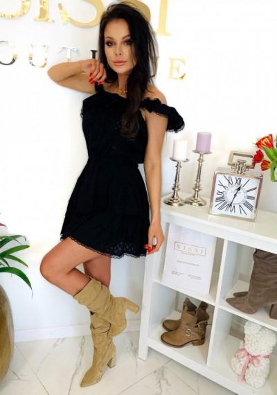 Sukienka CHELSEY- czarna 6