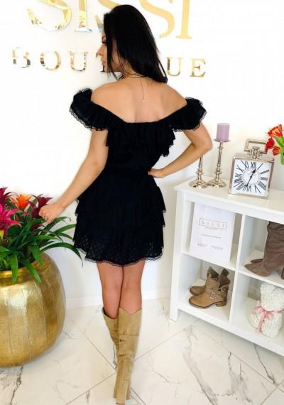 Sukienka CHELSEY- czarna 7