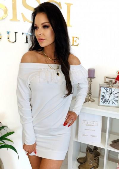 Sukienka DORIN- biała 1