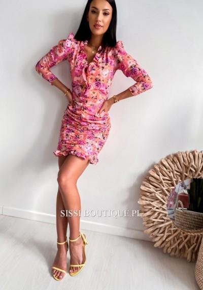Sukienka EDITH ORANGE