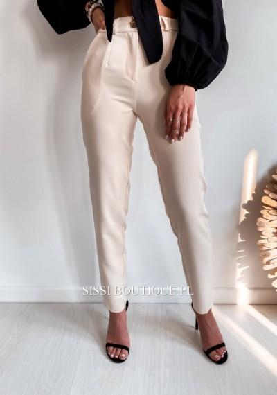 Spodnie CORNEL- ecru