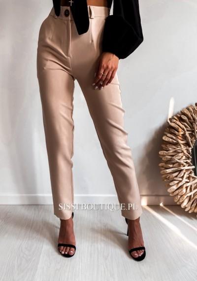 Spodnie CORNEL- beż