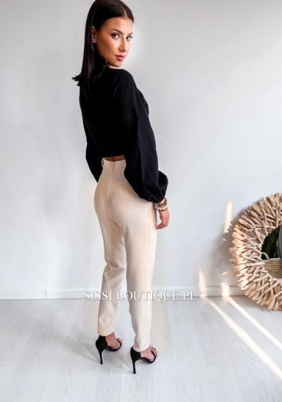Spodnie CORNEL- ecru 3
