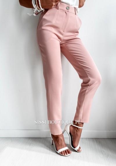 Spodnie CORNEL- pudrowe