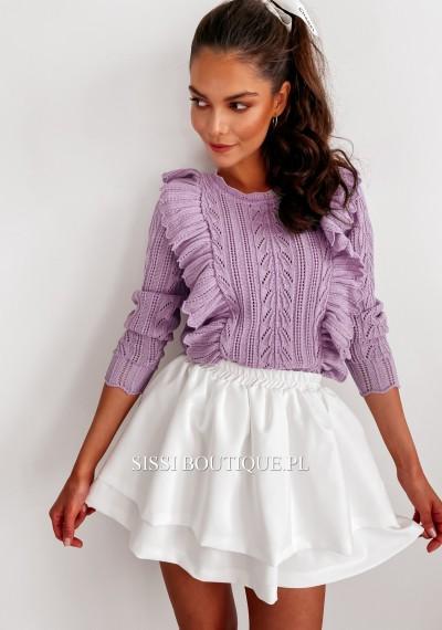 Sweter FRANKY- fiolet