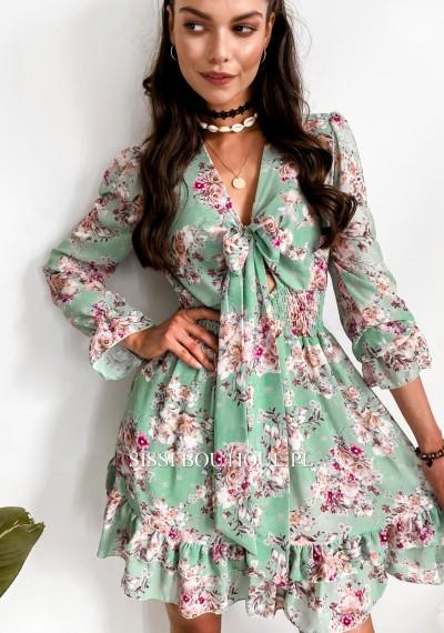Sukienka SERGIO- green
