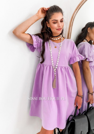 Sukienka LORRY- fiolet