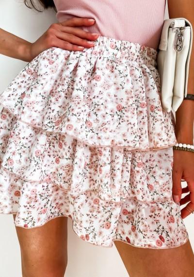 Spódnica FLOW WHITE