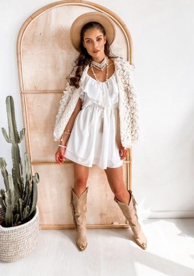Sukienka VIOLET White