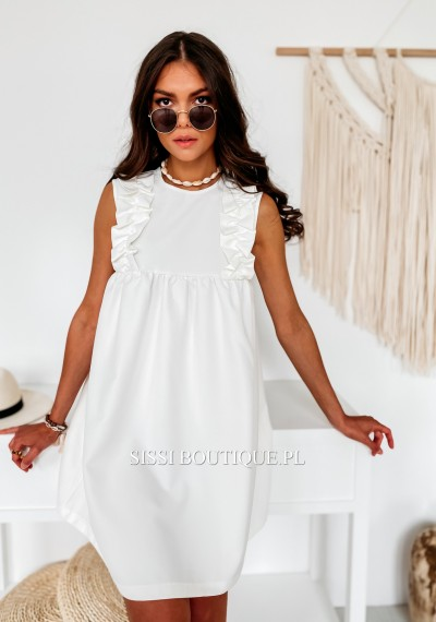 Sukienka SARAH White 2