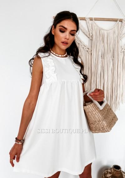 Sukienka SARAH White 3