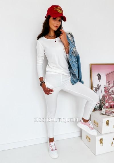 Spodnie LARA- biel 3