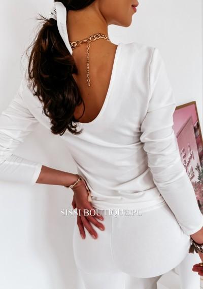 Spodnie LARA- biel 7