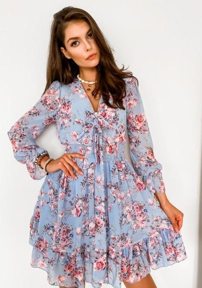 Sukienka SERGIO- blue