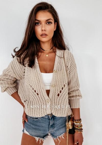 Sweter FELICY- beż