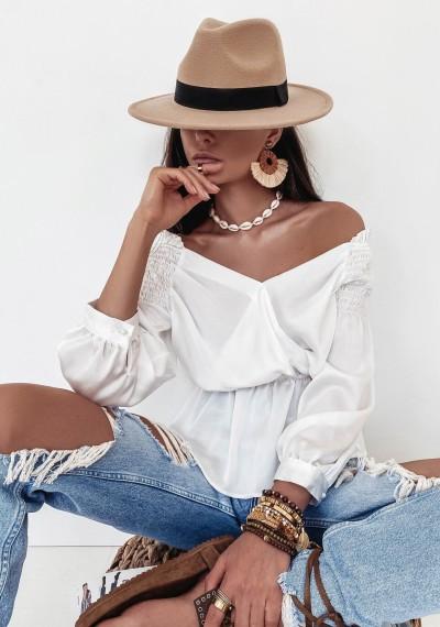 Bluzka FRANCESCA- biała