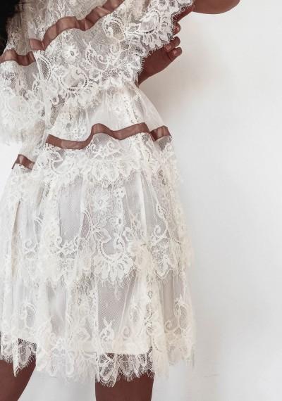 Sukienka SANDY Ecru 4