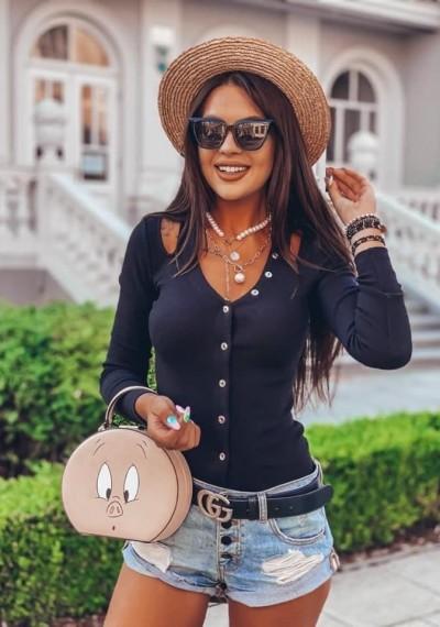 Bluzka CORIN- czarna