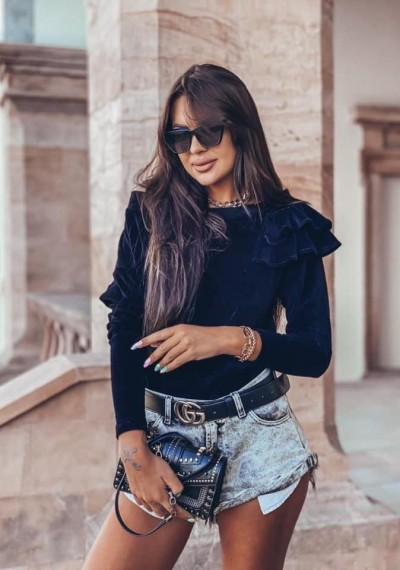 Bluzka LEA BLACK