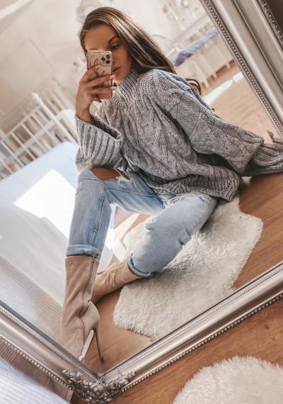Sweter MERYL GREY
