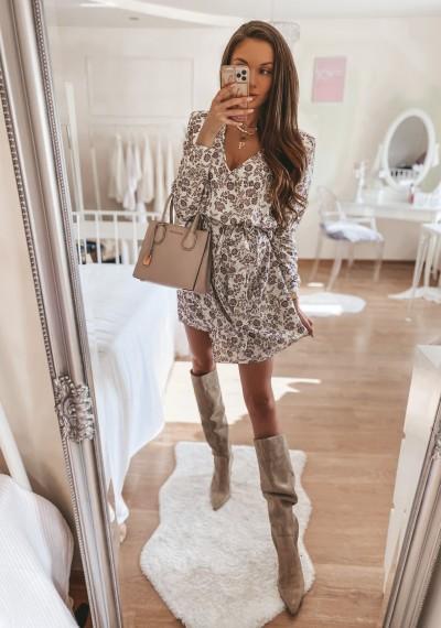 Sukienka MILANO BEIGE
