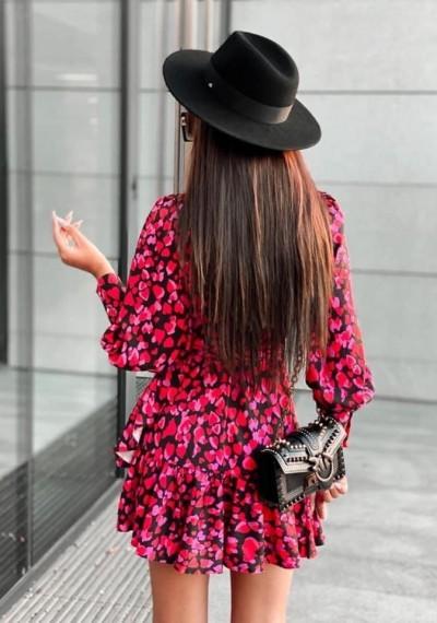 Czerwona Sukienka JULIA 1